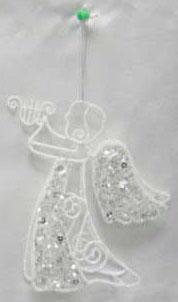 Украшение Winter Wings Ангел 16 см 1 шт белый полимер, металл N180470 украшение winter wings сидящий ангел 21 см 1 шт белый полиэстер n180204