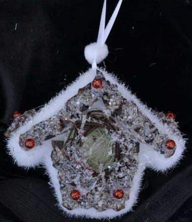 Украшение Winter Wings Лесная избушка 9 см 1 шт полимер N180122 цена и фото