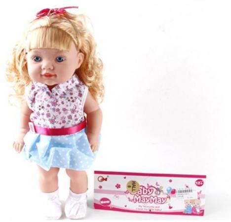 Кукла Мила 38 см, озвуч., в ассорт., пакет кукла малютка lalaloopsy в оранжевой упаковке