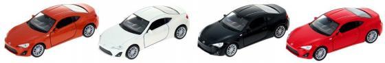 Автомобиль Welly Toyota 86 1:34-39 цвет в ассортименте 43669 toyota funcargo в омске