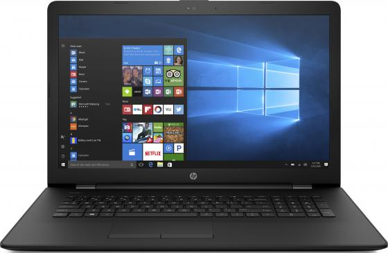 Ноутбук HP 17-ak075ur 17.3 1600x900 AMD A9-9420 500 Gb 4Gb Radeon R5 черный Windows 10 Home 2PW10EA