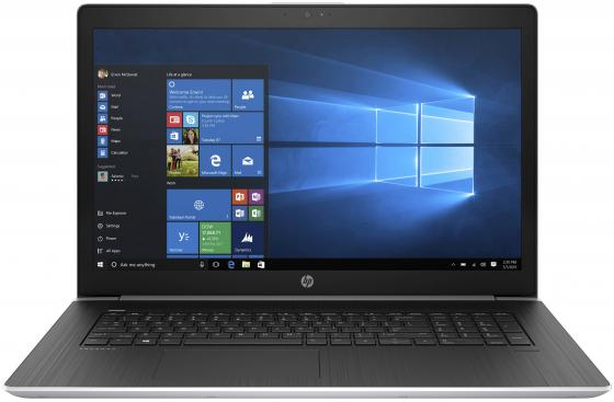 "Ноутбук HP ProBook 470 G5 17.3"" 1920x1080 Intel Core i5-8250U 256 Gb 8Gb nVidia GeForce GT 930MX 2048 Мб серебристый Windows 10 Professional 2RR73EA"