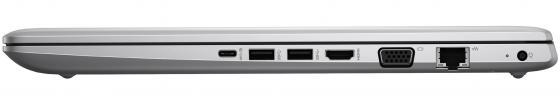 """Ноутбук HP ProBook 470 G5 17.3"""" 1920x1080 Intel Core i5-8250U 256 Gb 8Gb nVidia GeForce GT 930MX 2048 Мб серебристый Windows 10 Professional 2RR73EA"""