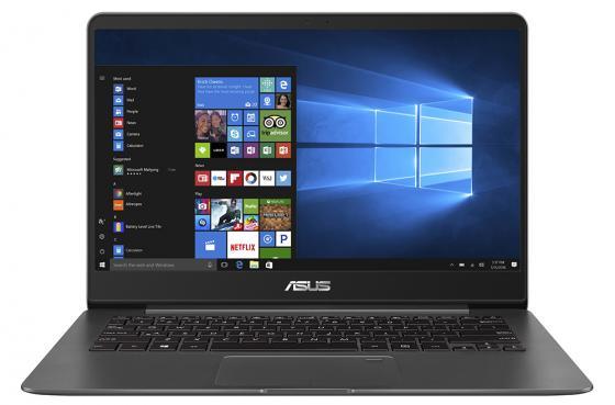Ноутбук ASUS ZenBook UX430UA-GV088R 14 1920x1080 Intel Core i3-7100U 256 Gb 8Gb Intel HD Graphics 620 серый Windows 10 Professional 90NB0EC1-M10240 ультрабук asus zenbook flip ux360ca c4112ts 13 3 1920x1080 intel core m5 6y54 ssd 256 8gb intel hd graphics 515 серый windows 10 home 90nb0ba2 m03510