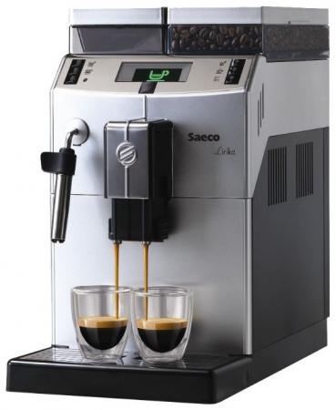 Кофемашина Saeco Lirika Plus 1850 Вт серебристый цена и фото