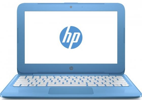 Ноутбук HP Stream 11-y008ur 11.6 1366x768 Intel Celeron-N3060 32 Gb 2Gb Intel HD Graphics 400 голубой Windows 10 Home 2EQ22EA ноутбук hp stream 11 y000ur celeron n3050 1 6ghz 11 6 2gb 32gb hd graphics w10 home blue y3u90ea
