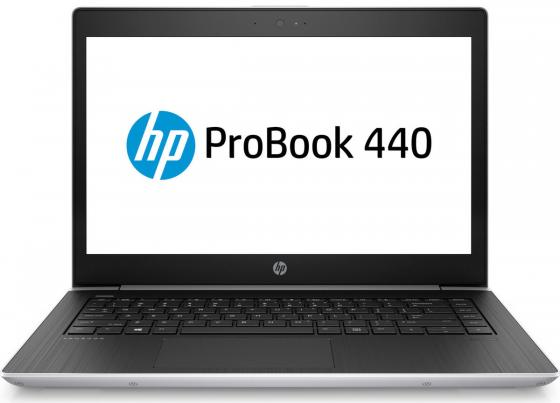 "Ноутбук HP Probook 440 G5 14"" 1920x1080 Intel Core i5-8250U 256 Gb 8Gb Intel UHD Graphics 620 серебристый Windows 10 Professional 2RS30EA"