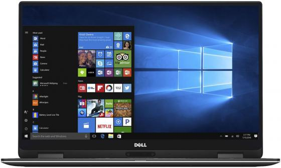 "Ультрабук DELL XPS 13 13.3"" 3200x1800 Intel Core i7-7Y75 512 Gb 16Gb Wi-Fi Intel HD Graphics 615 черный Windows 10 Professional 9365-6232"