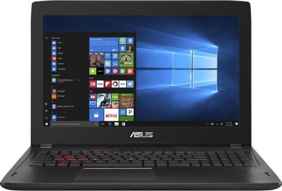 Ноутбук ASUS FX502VM-FY248T 15.6 1920x1080 Intel Core i7-7700HQ 1 Tb 128 Gb 8Gb nVidia GeForce GTX 1060 2048 Мб черный Windows 10 Home 90NB0DR5-M04730 ноутбук asus k501ux dm282t 15 6 intel core i7 6500 2 5ghz 8gb 1tb hdd geforce gtx 950mx 90nb0a62 m03370