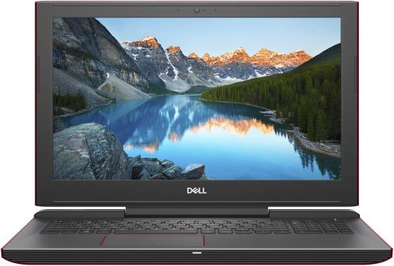 Ноутбук DELL Inspiron 7577 15.6 1920x1080 Intel Core i7-7700HQ 1 Tb 128 Gb 16Gb nVidia GeForce GTX 1050Ti 4096 Мб красный Windows 10 Home 7577-9638 ноутбук dell inspiron 3567