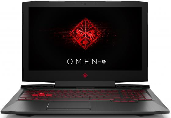 Ноутбук HP Omen 15-ce010ur 15.6 1920x1080 Intel Core i7-7700HQ 1 Tb 128 Gb 8Gb nVidia GeForce GTX 1050Ti 4096 Мб черный Windows 10 Home 1ZB04EA