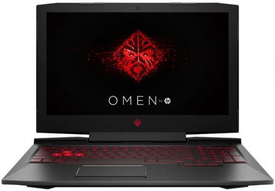 Ноутбук HP Omen 15-ce022ur 15.6 1920x1080 Intel Core i5-7300HQ 1 Tb 128 Gb 8Gb nVidia GeForce GTX 1060 6144 Мб черный Windows 10 Home 2FP26EA