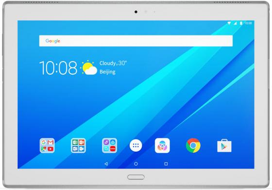 Планшет Lenovo Tab 4 Plus TB-X704L 10.1 16Gb белый LTE Wi-Fi 3G Bluetooth Android ZA2R0002RU планшет lenovo tab 3 plus tb 7703x 7 16gb черный lte wi fi 4g 3g bluetooth android za1k0070ru