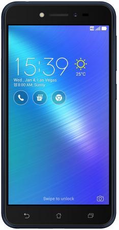 Смартфон ASUS ZenFone Live ZB501KL черный 5 16 Гб LTE Wi-Fi GPS 90AK0071-M01040 смартфон asus zenfone 4 live zb553kl черный 5 5 16 гб lte wi fi gps 3g 90ax00l1 m01090