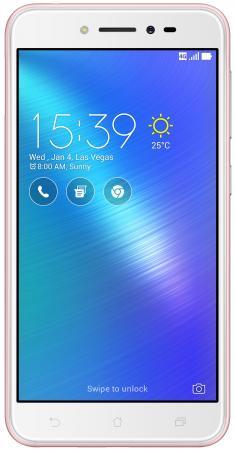 Смартфон ASUS ZenFone Live ZB501KL розовый 5 16 Гб LTE Wi-Fi GPS 90AK0073-M00130 смартфон asus zenfone zoom zx551ml белый 5 5 128 гб nfc lte wi fi gps 3g 90az00x2 m01380