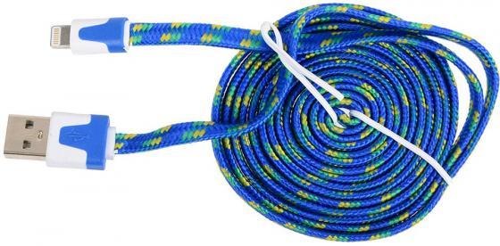 Фото Кабель Lightning 2м Ritmix RCC-222 круглый кабель lightning 1м ritmix rcc 120 круглый