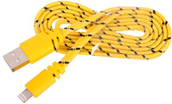 Кабель Lightning 1м LP плоский жёлтый 0L-00030339 кабель lightning 1м lp плоский 0l 00030341