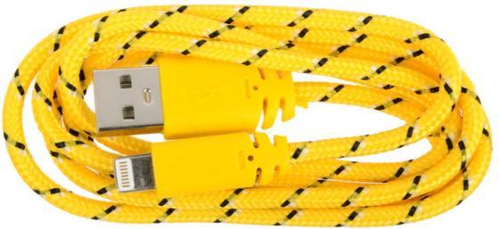 Кабель Lightning 1м LP круглый SM001592 кабель lightning 1м wiiix круглый cb120 u8 10b