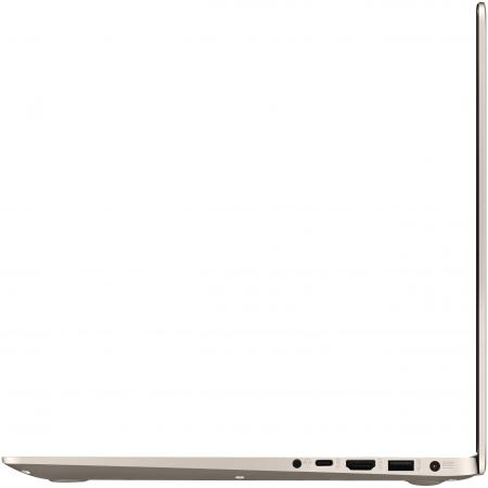 "Ноутбук ASUS VivoBook S510UN-BQ019T 15.6"" 1920x1080 Intel Core i5-7200U 1 Tb 128 Gb 8Gb nVidia GeForce MX150 2048 Мб золотистый Windows 10 Home 90NB0GS1-M00420"