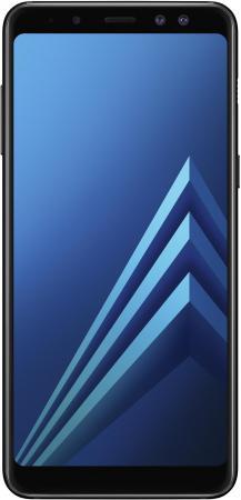 Смартфон Samsung Galaxy A8 (2018) черный 5.6 32 Гб NFC LTE Wi-Fi GPS SM-A530FZKDSER смартфон samsung galaxy a8 2018 black sm a530f exynos 7885 2 2 4gb 32gb 5 6 2220x1080 16mp 16mp 8mp 4g lte 2sim android 7 1 sm a530fzkdser