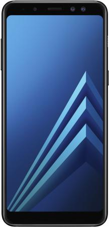 Смартфон Samsung Galaxy A8+ (2018) черный 6 32 Гб NFC LTE Wi-Fi GPS SM-A730FZKDSER смартфон samsung galaxy a8 2018 sm a530f exynos 7885 2 2 4gb 32gb 6 2220x1080 16mp 16mp 8mp 4g lte 2sim android 7 1 black sm a730fzkdser