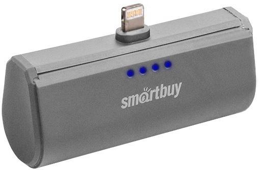 Портативное зарядное устройство Smartbuy Turbo 8 SBPB-120 2200mAh серый зарядное устройство oem 2200mah ds ds 2200mah flashlight