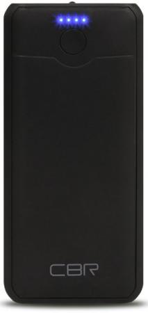 Внешний аккумулятор Power Bank 4000 мАч CBR CBP-5040 черный внешний аккумулятор molecula pb 20 01 20800 мач черный алюминий