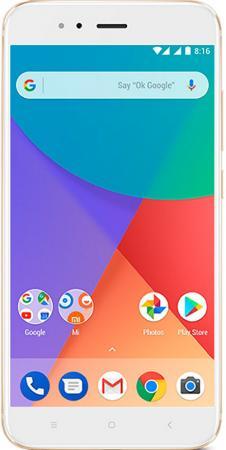 Смартфон Xiaomi  A1 золотистый 5. 32 Гб LTE Wi-Fi GPS