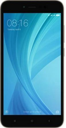 Смартфон Xiaomi Redmi Note 5A Prime серый 5.5 64 Гб LTE Wi-Fi GPS 3G смартфон asus zenfone 3 zoom ze553kl серебристый 5 5 64 гб lte wi fi gps 3g 90az01h1 m00770