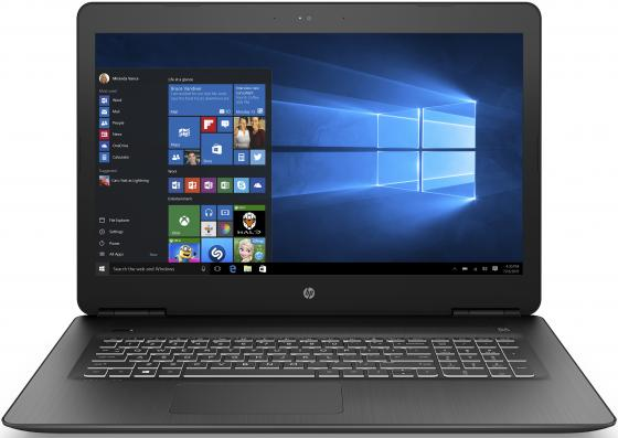 Ноутбук HP Pavilion Gaming 17-ab319ur 17.3 1920x1080 Intel Core i7-7700HQ 1 Tb 128 Gb 8Gb nVidia GeForce GTX 1050Ti 4096 Мб черный Windows 10 Home 2PQ55EA ноутбук asus rog hero gl503vd 15 6 1920x1080 intel core i7 7700hq 1 tb 128 gb 8gb nvidia geforce gtx 1050 4096 мб черный windows 10 home 90nb0gq4 m03910