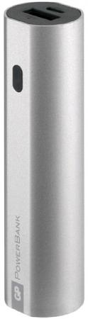 Фото Внешний аккумулятор Power Bank 3000 мАч GP GPFN03MSE-2CRB1 серебристый внешний аккумулятор asus zenpower abtu005 10050mah gold