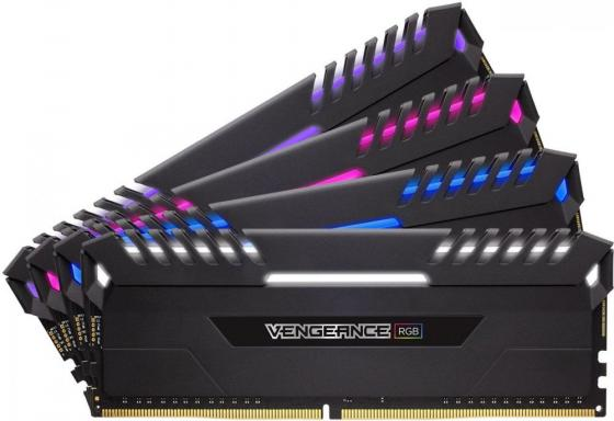 Оперативная память 64Gb (4x16Gb) PC4-27700 3466MHz DDR4 DIMM Corsair CMR64GX4M4C3466C16 оперативная память corsair vengeance rgb cmr32gx4m4c3466c16 rtl ddr4 4 32гб pc4 27700 3466мгц dimm