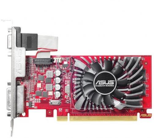 Видеокарта 2048Mb ASUS Radeon R7 240 PCI-E 128bit DDR5 DVI HDMI CRT HDCP R7240-2GD5-L Retail used asus hd7750 1gb ddr5 128bit gaming desktop pc graphics card 100% tested good