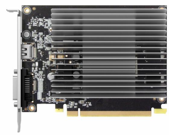 Видеокарта 2048Mb Palit GeForce GT1030 PCI-E DDR5 64bit DVI HDMI HDCP PA-GT1030-2GD5 NE5103000646-1081H Retail видеокарта 4096mb palit geforce gtx1050ti stormx pci e pa gtx1050ti stormx 4g retail ne5105t018g1 1070f