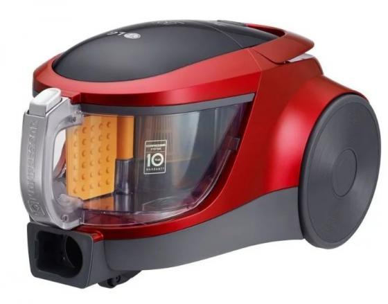 Пылесос LG VK76A01NDR сухая уборка красный чёрный lg vk89304h пылесос