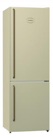 Холодильник Gorenje NRK611CLI бежевый холодильник gorenje nrk611cli