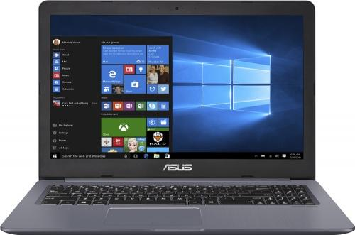 Ноутбук ASUS VivoBook Pro 15 N580VD-DM494 15.6 1920x1080 Intel Core i5-7300U 1 Tb 8Gb nVidia GeForce GTX 1050 2048 Мб серый DOS 90NB0FL4-M08990