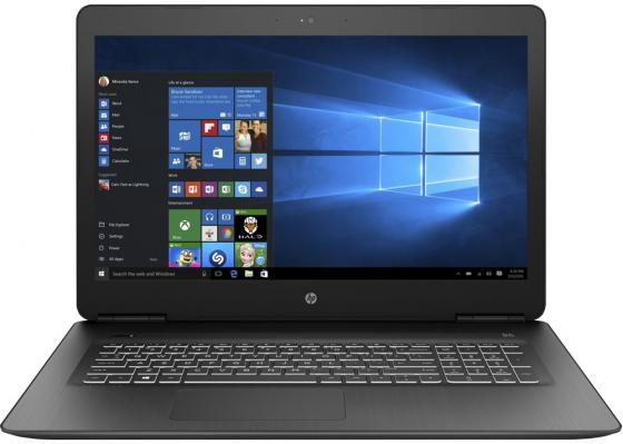 Ноутбук HP Pavilion Gaming 17-ab318ur 17.3 1920x1080 Intel Core i7-7700HQ 1 Tb 8Gb nVidia GeForce GTX 1050Ti 4096 Мб черный Windows 10 Home 2PQ54EA ноутбук hp omen 15 ce009ur 15 6 1920x1080 intel core i7 7700hq 1 tb 8gb nvidia geforce gtx 1050 4096 мб черный windows 10 home 1zb03ea