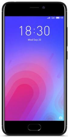 Смартфон Meizu M6 черный 5.2 16 Гб LTE Wi-Fi GPS M711H_16GB_BLACK смартфон meizu m5 note белый золотистый 5 5 16 гб lte wi fi gps 3g