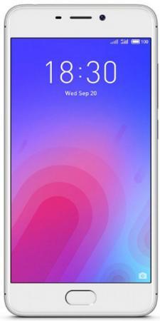 Смартфон Meizu M6 серебристый 5.2 32 Гб LTE Wi-Fi GPS смартфон meizu m5 note серебристый 5 5 32 гб lte wi fi gps 3g