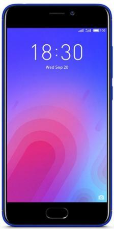 "Смартфон Meizu M6 синий 5.2"" 32 Гб LTE Wi-Fi GPS M711H_32GB_BLUE все цены"