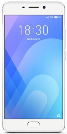 "Купить Смартфон Meizu M6 Note Серебристый 5.5"" 16 Гб Lte Wi-Fi Gps"