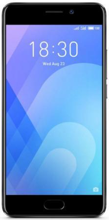 Смартфон Meizu M6 Note черный 5.5 32 Гб LTE Wi-Fi GPS смартфон asus zenfone live zb501kl золотистый 5 32 гб lte wi fi gps 3g 90ak0072 m00140