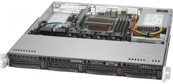 Серверная платформа SuperMicro SYS-5019S-M2 платформа supermicro sys 5019s m2 raid 1x350w