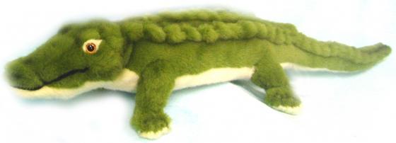 Мягкая игрушка крокодил Hansa 4051 58 см зеленый искусственный мех женские сумки