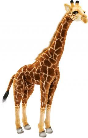 Мягкая игрушка жираф Hansa Жираф 3623 85 см искусственный мех текстиль пластик игрушка на пружинке жираф