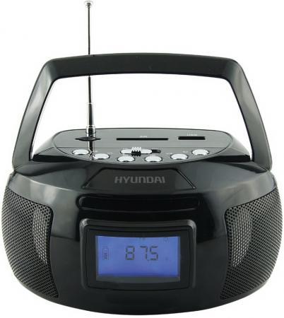 Магнитола Hyundai H-PAS140 черный цена и фото