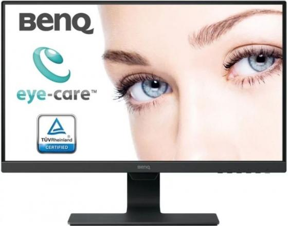 Монитор 24 BENQ BL2480 черный IPS 1920x1080 250 cd/m^2 5 ms HDMI DisplayPort Аудио VGA монитор жк benq gl2580hm 24 5 черный [9h lggla tpe]
