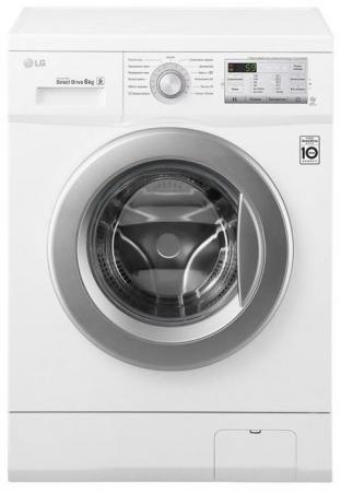 Стиральная машина LG FH0H3ND1 белый стиральная машина lg fh0b8ld6