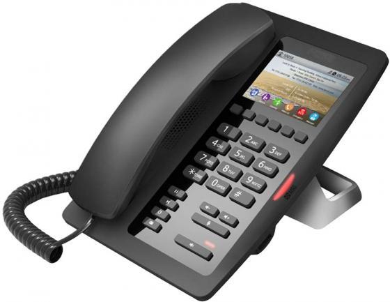 Телефон IP для отелей Fanvil H5 2 SIP-аккаунта 2x10/100/1000Mbps 3.5 LCD телефон ip akuvox sp r55p 3 sip аккаунта 2x10 100mbps 2 3 lcd poe